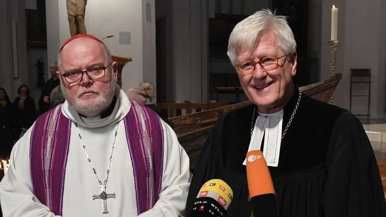 Der Augsburger Friedenspreis geht 2020 an Reinhard Kardinal Marx und Landesbischof Heinrich Bedford-Strohm.