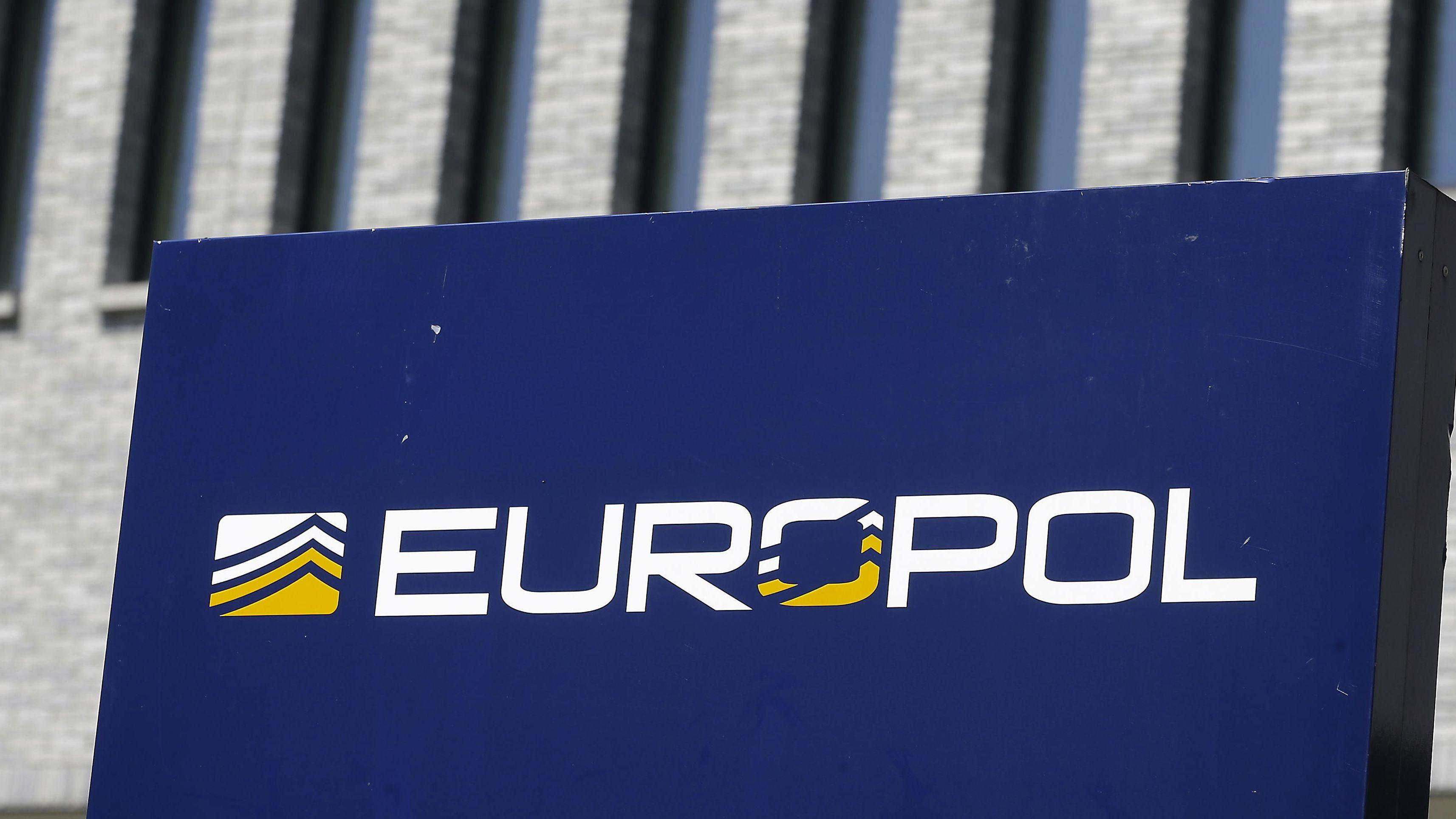 Schild von Europol