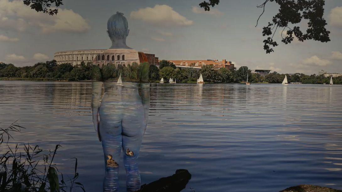 "Bodypainting-Ausstellung ""Stadtchamäleons"""