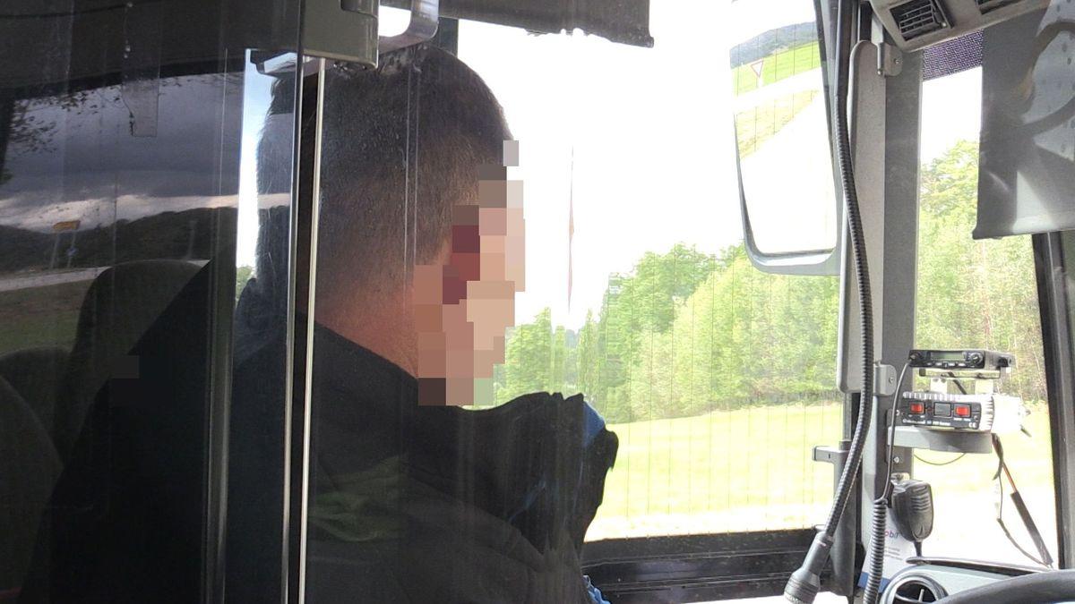 Der angegriffene Busfahrer