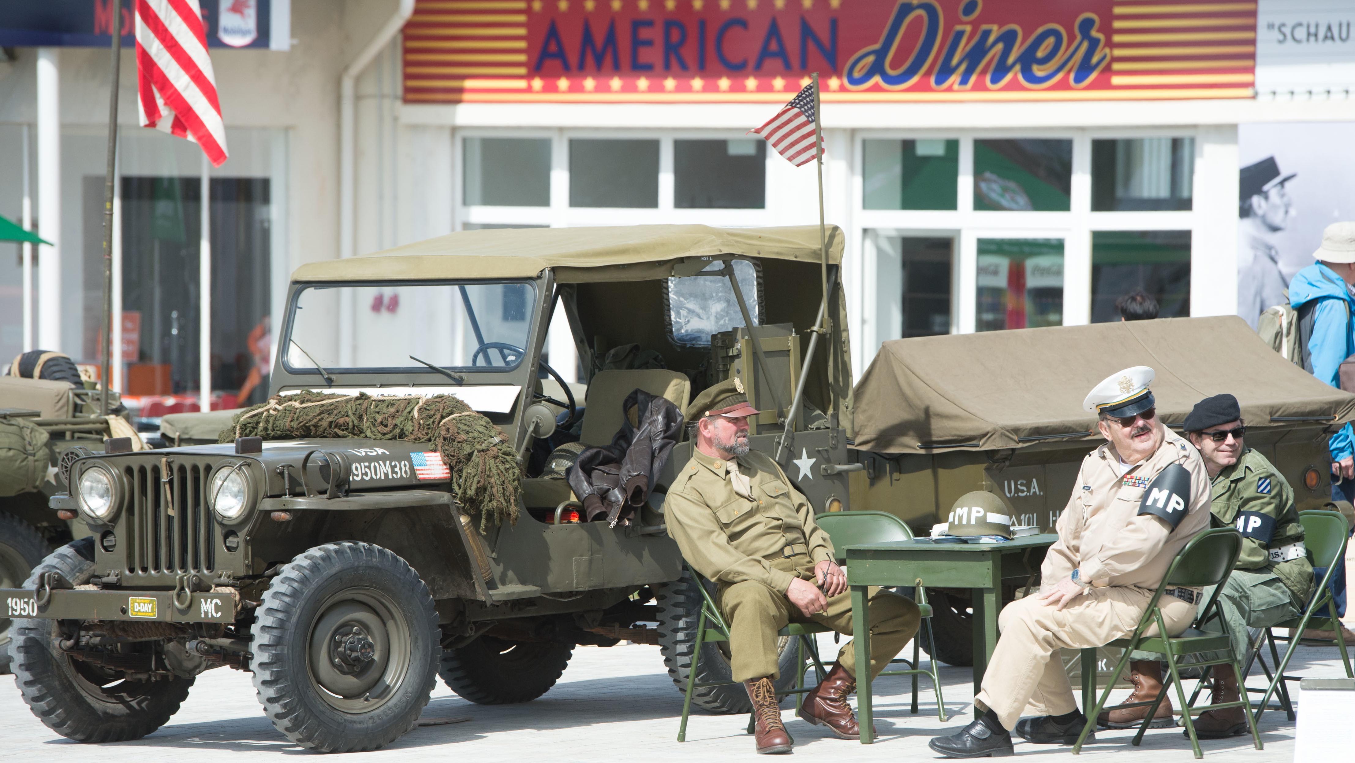 Ehemalige Tankstelle der US Armee auf dem Gelände der Landesgartenschau in Würzburg