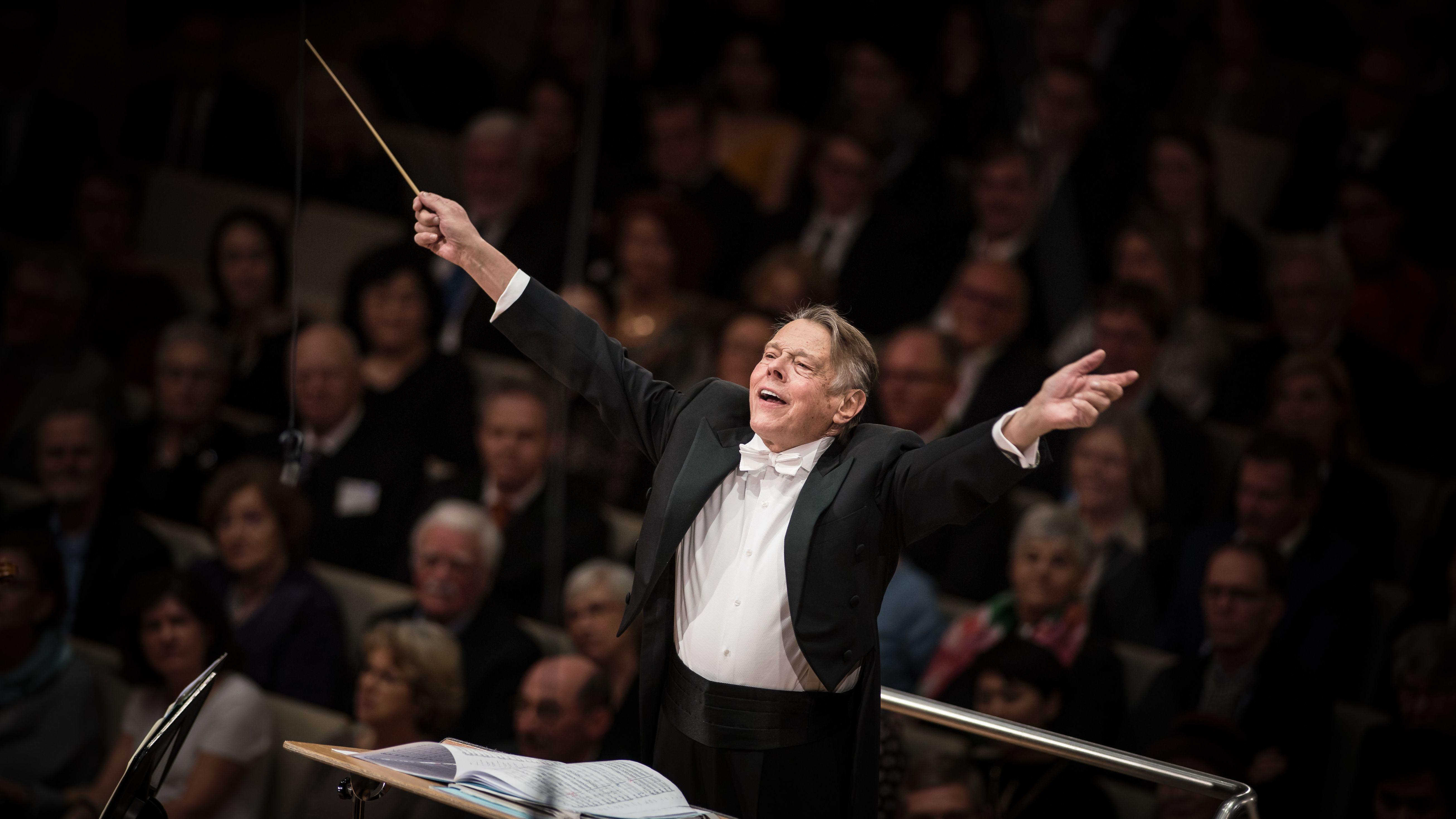 Mariss Jansons dirigiert das BR-Symphonieorchester