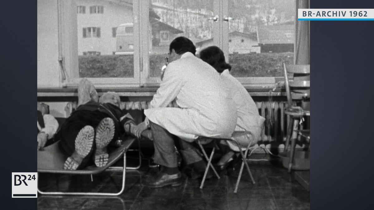 Blutspende in Berchtesgaden 1962