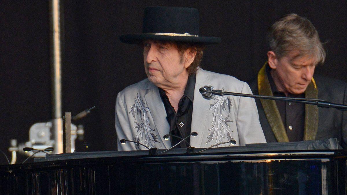 Bob Dylan bei einem Konzert im Juli 2019 im Londoner Hyde Park