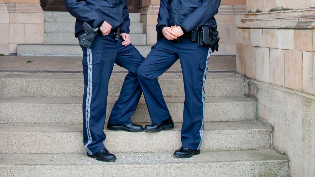 Polizeiuniform Bayern