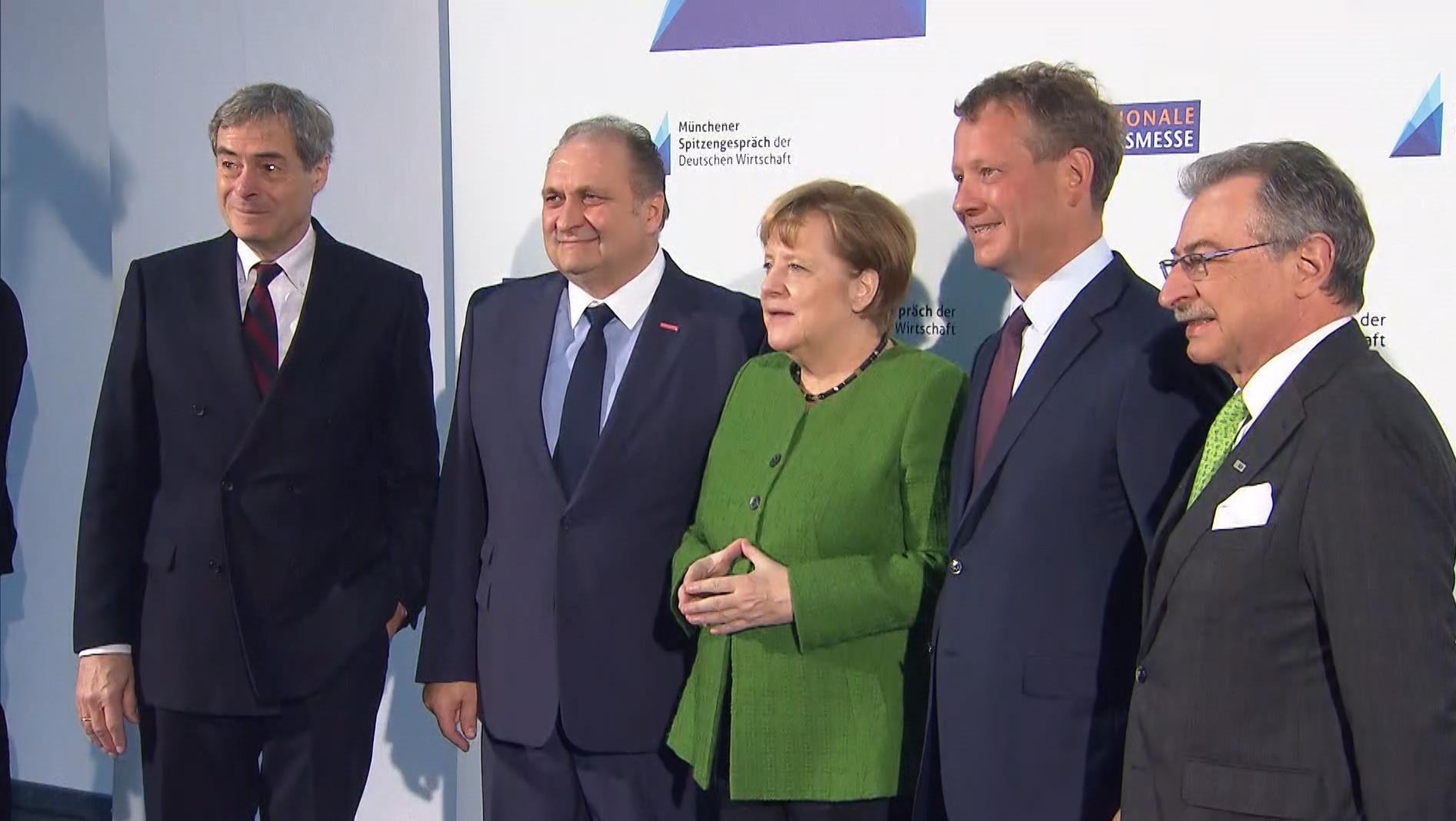 Merkel in München