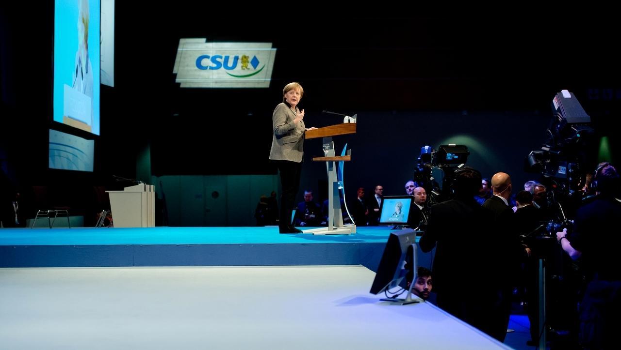 Symbolbild: Winterklausur in Kreuth - CSU gegen Kanzlerin