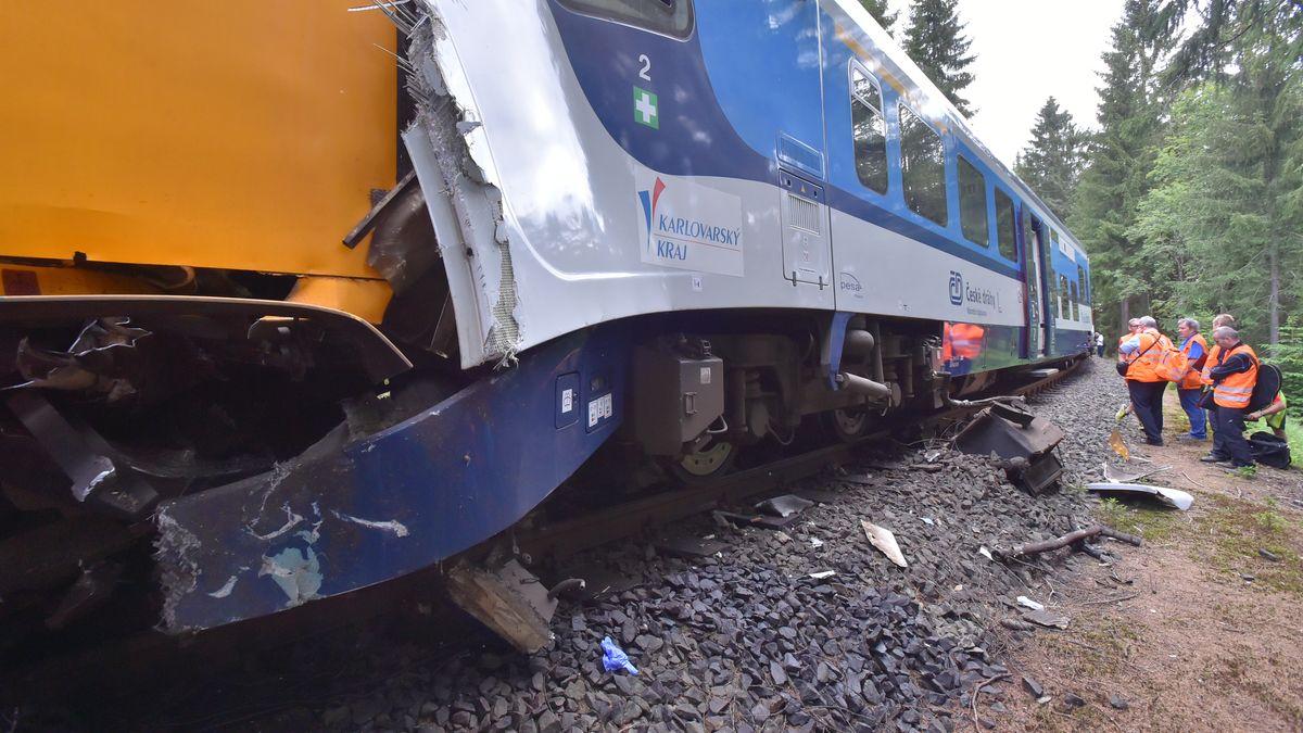Bei diesem Bahnunfall im Erzgebirge sind vor wenigen Tagen zwei Menschen ums Leben gekommen.