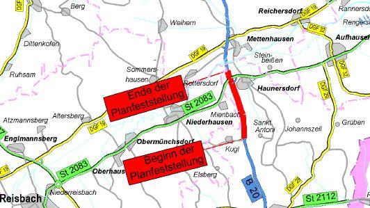 Die Überholspur auf der B20 bei Haunersdorf (Lkr. Dingolfing-Landau) ist nun von der Regierung von Niederbayern genehmigt worden.