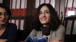 Mesale Tolu nach ihrer Freilassung | Bild:picture-alliance/dpa