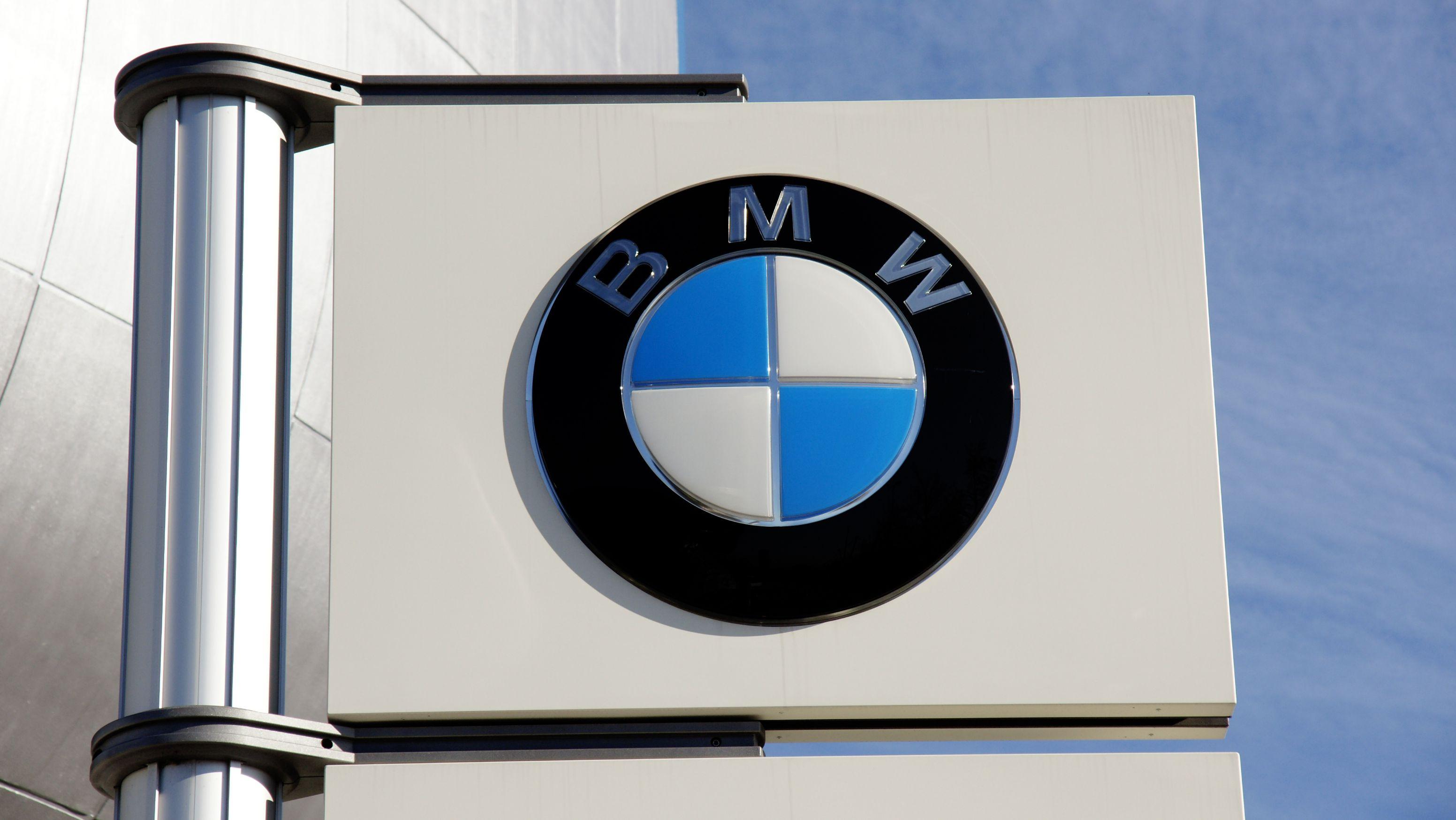 BMW Logo in München