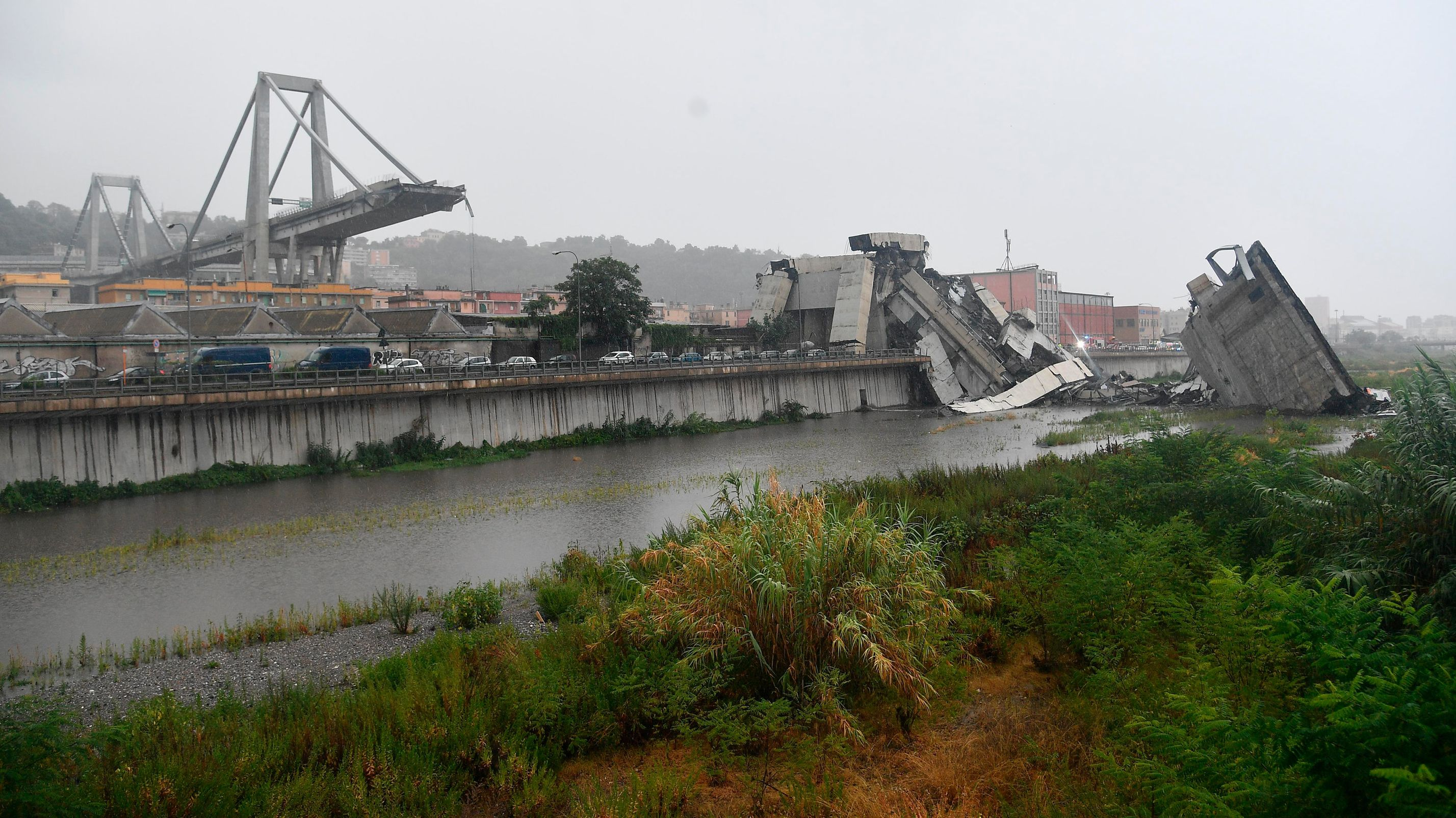 14.8.2018: Der Einsturz der Morandibrücke