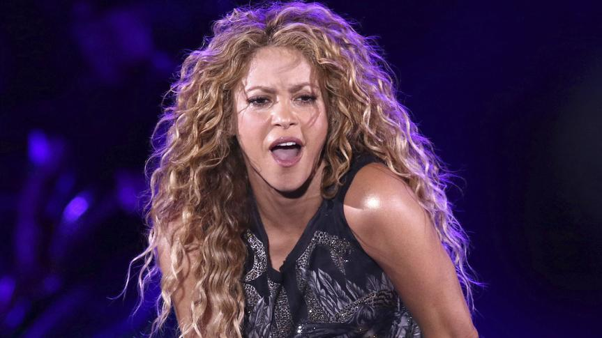 USA, New York: Shakira tritt im Madison Square Garden auf.