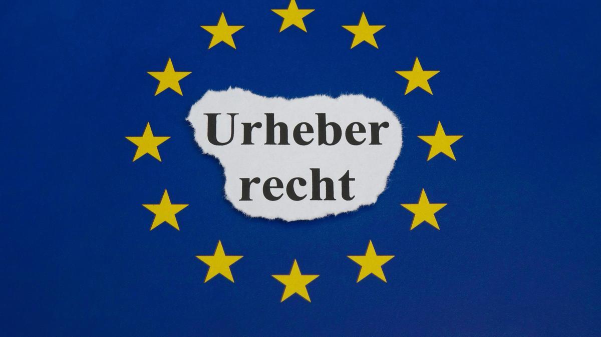 Urheberrecht und EU-Fahne
