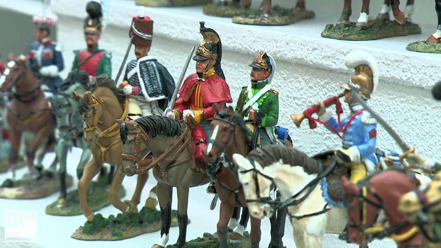 170 Aussteller aus 17 Nationen sind zurzeit auf der Kulmbacher Zinnfigurenbörse zu Gast.