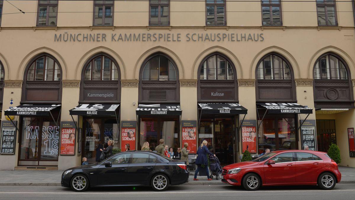 Die Münchner Kammerspiele in der Maximilianstraße