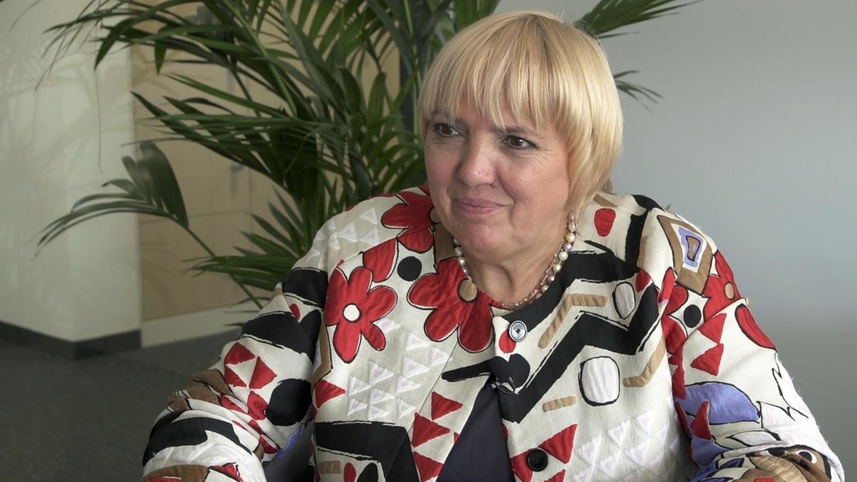 Bundestagsvizepräsidentin Claudia Roth im Interview