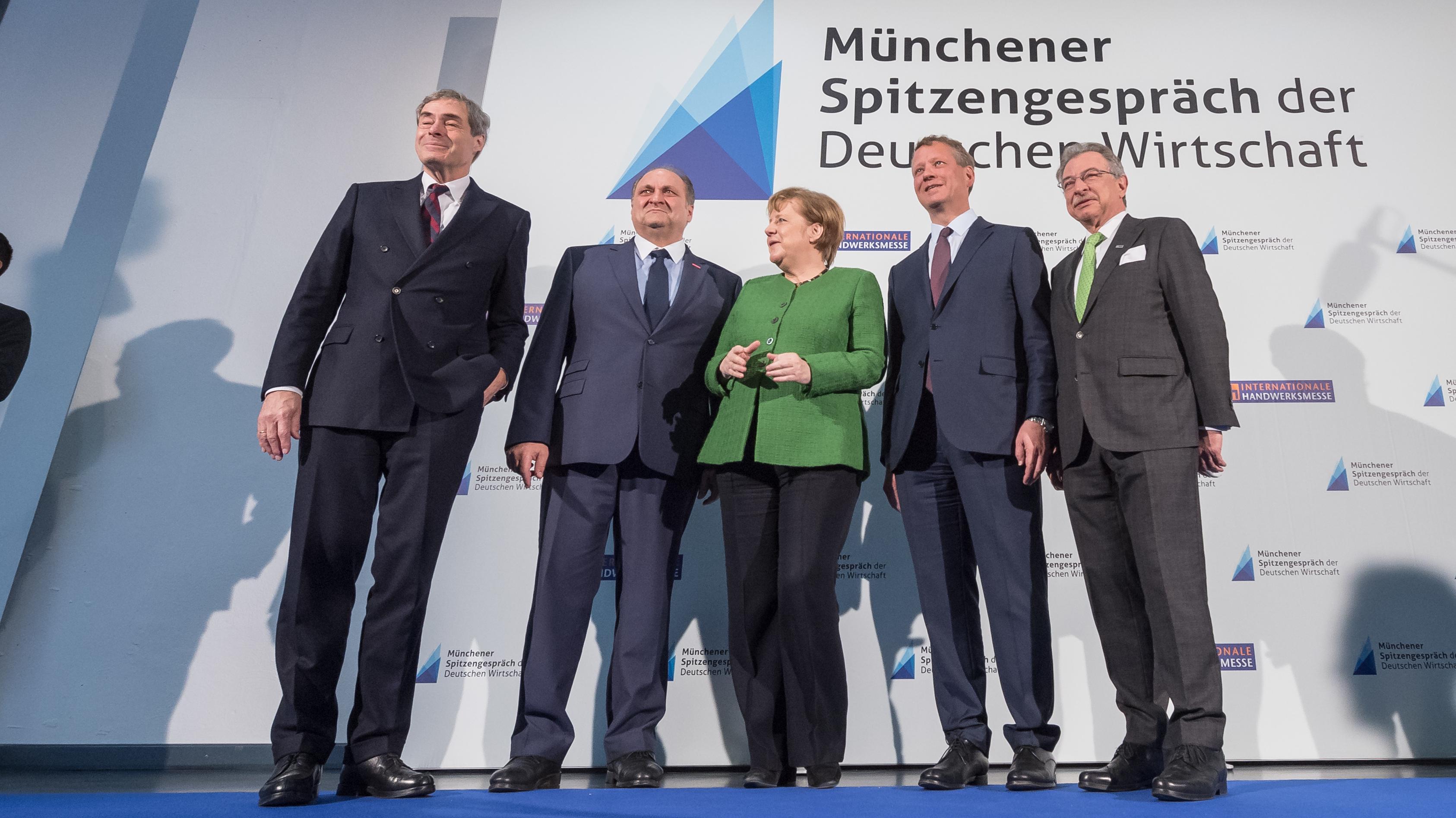 Spitzengespräch der Deutschen Wirtschaft mit Merkel 2019
