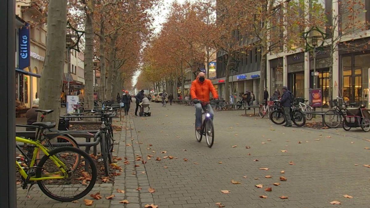 Radfahrer in Erlangen