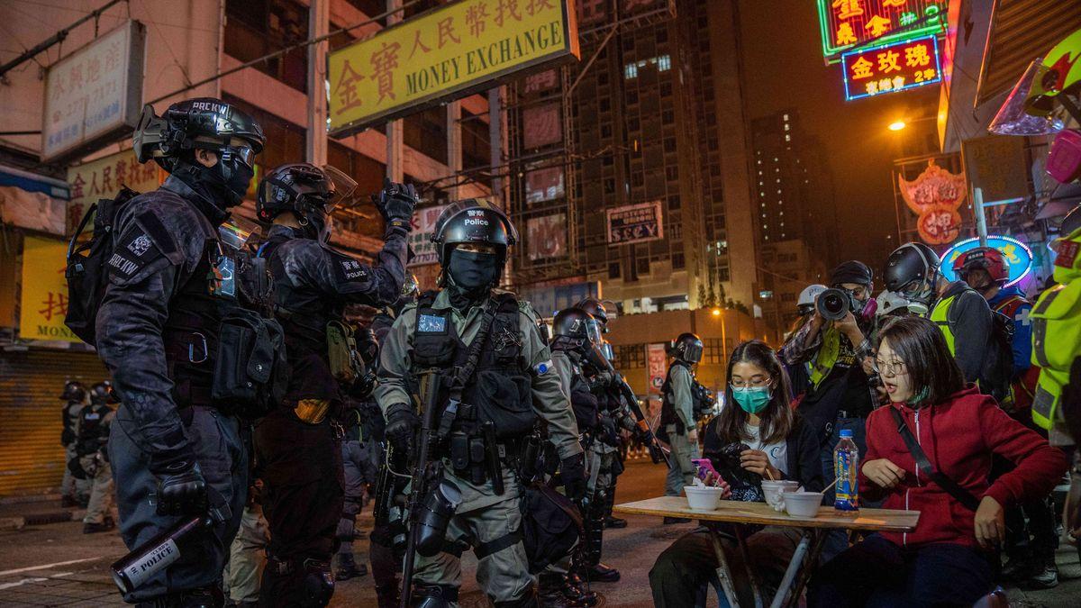 Erneute Auseinandersetzungen in Hongkong