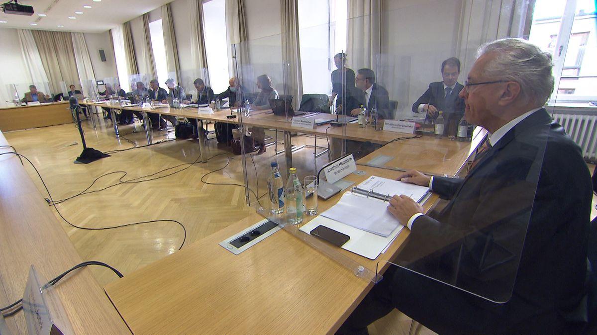 Innenausschuss im Bayerischen Landtag.