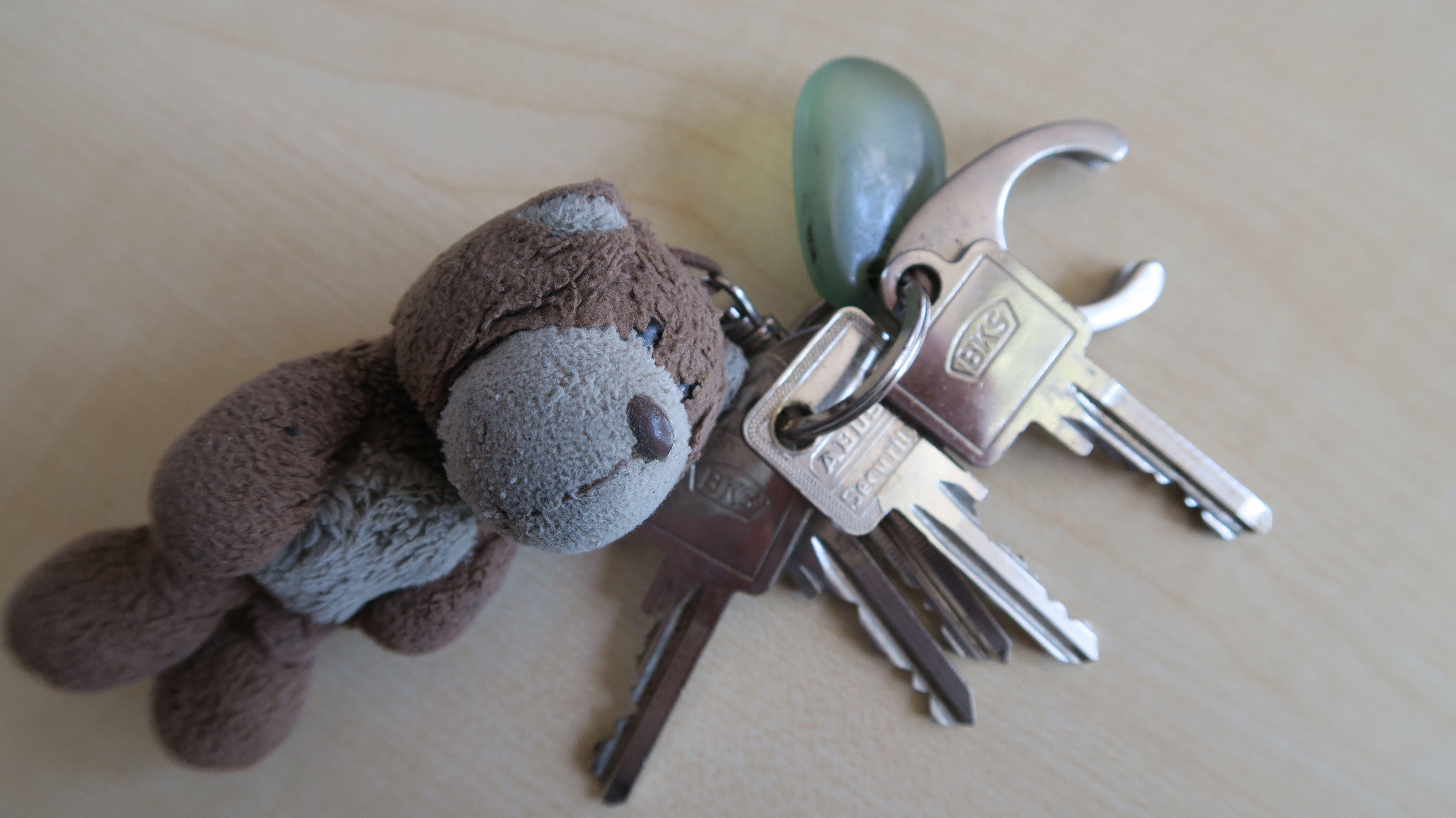 Schlüsselbund des unbekannten Toten vom Bodensee