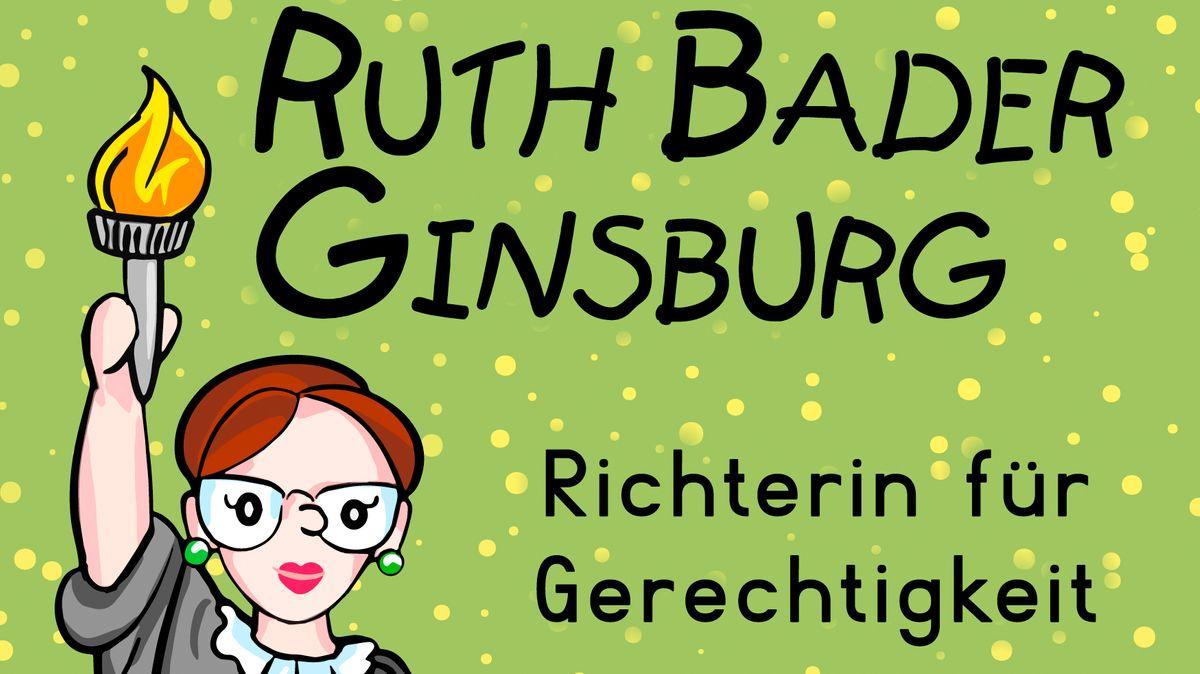 """Cover des Buches """"Ruth Bader Ginsburg. Richterin für Gerechtigkeit"""""""