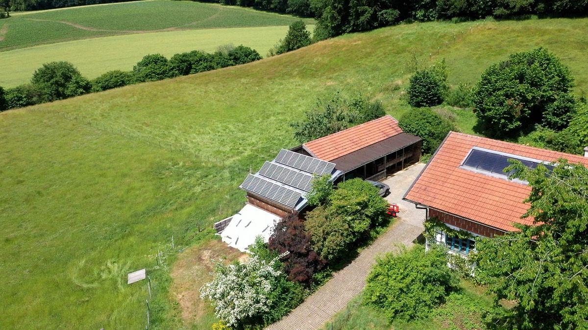 Photovoltaikanlagen auf Dächern im Landkreis Rottal-Inn