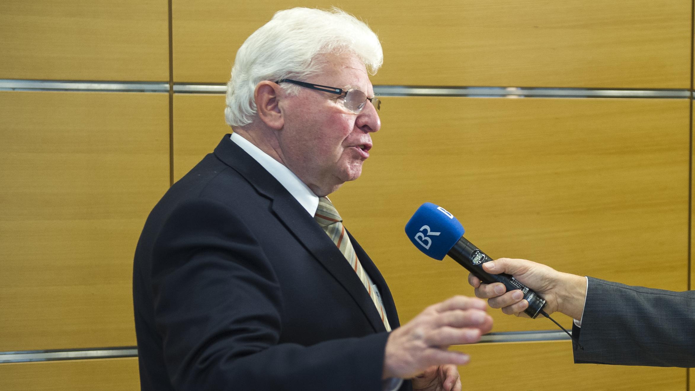Der Passauer Politikwissenschaftler Heinrich Oberreuter im BR-Interview