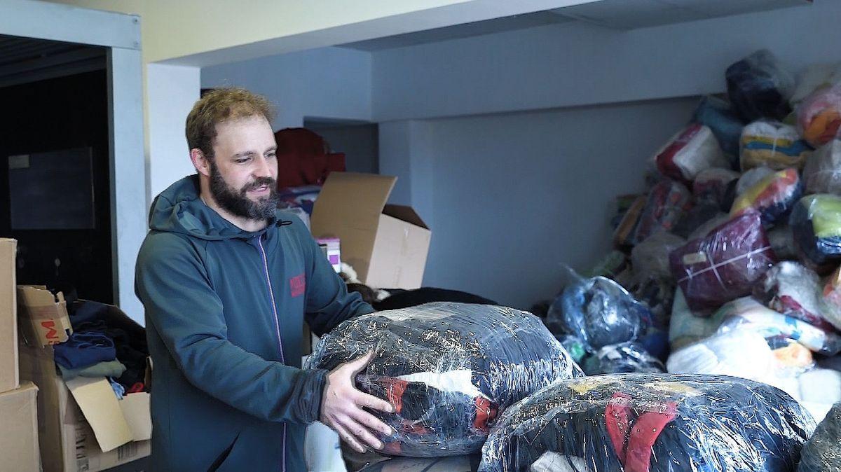 Ein Würzburger hilft Flüchtlingen in Bosnien.