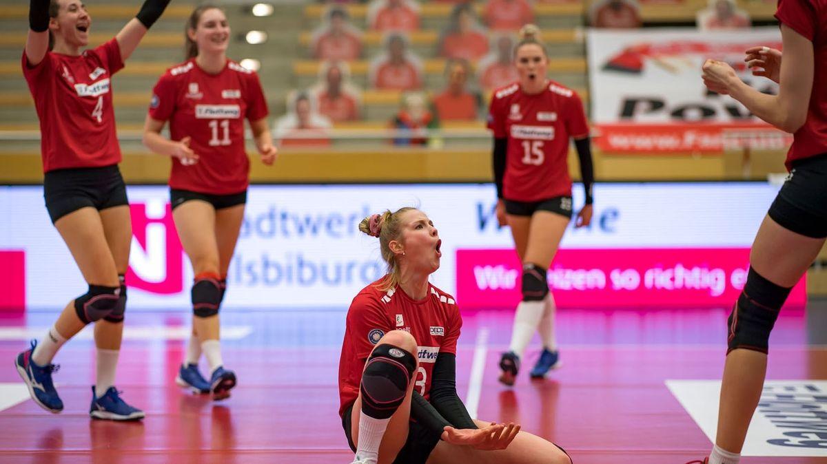 Die Roten Raben Vilsbiburg sind heiß auf das Viertelfinale gegen den SC Potsdam