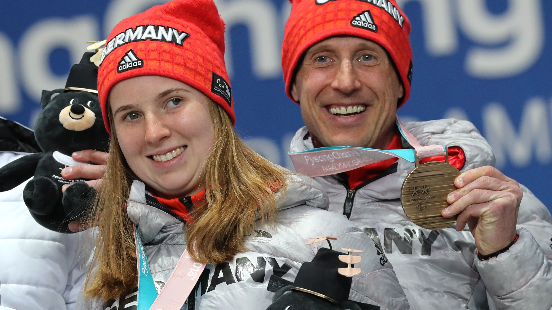 Clara Klug und Martin Härtl mit Bronzemedaillen bei den Paralympics 2018