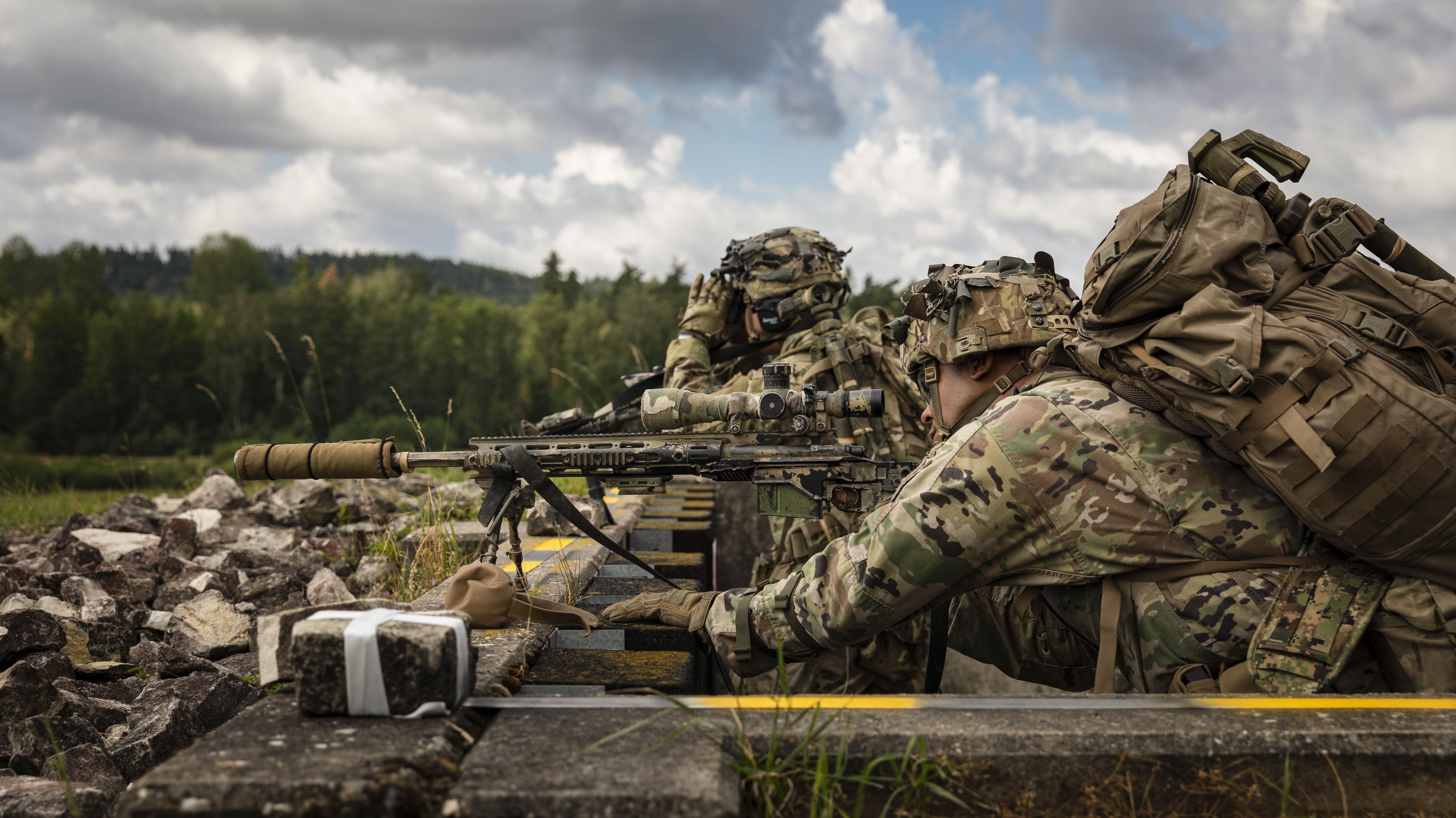 US-Truppen in Grafenwöhr