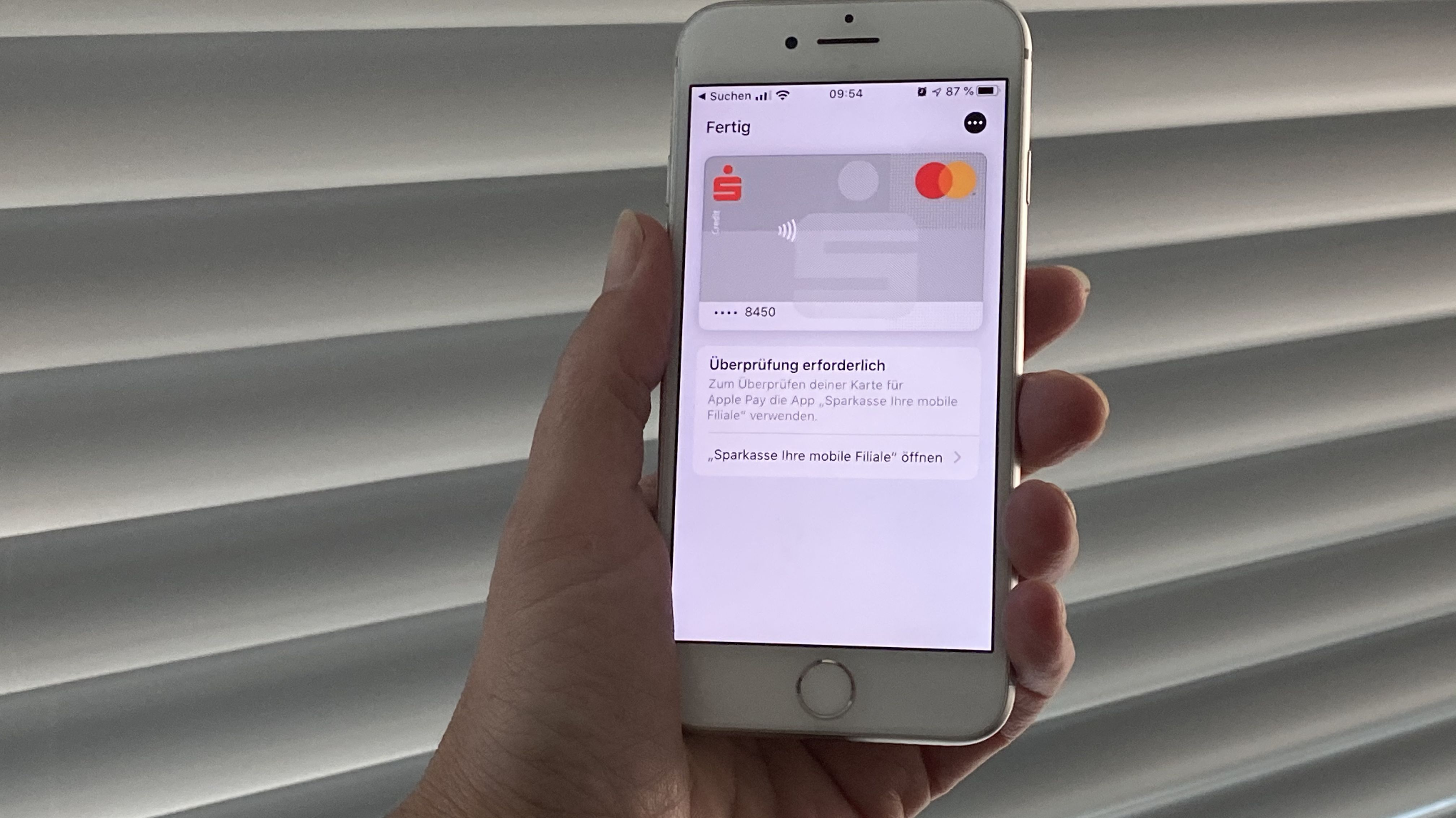 Apple Pay mit Sparkasse