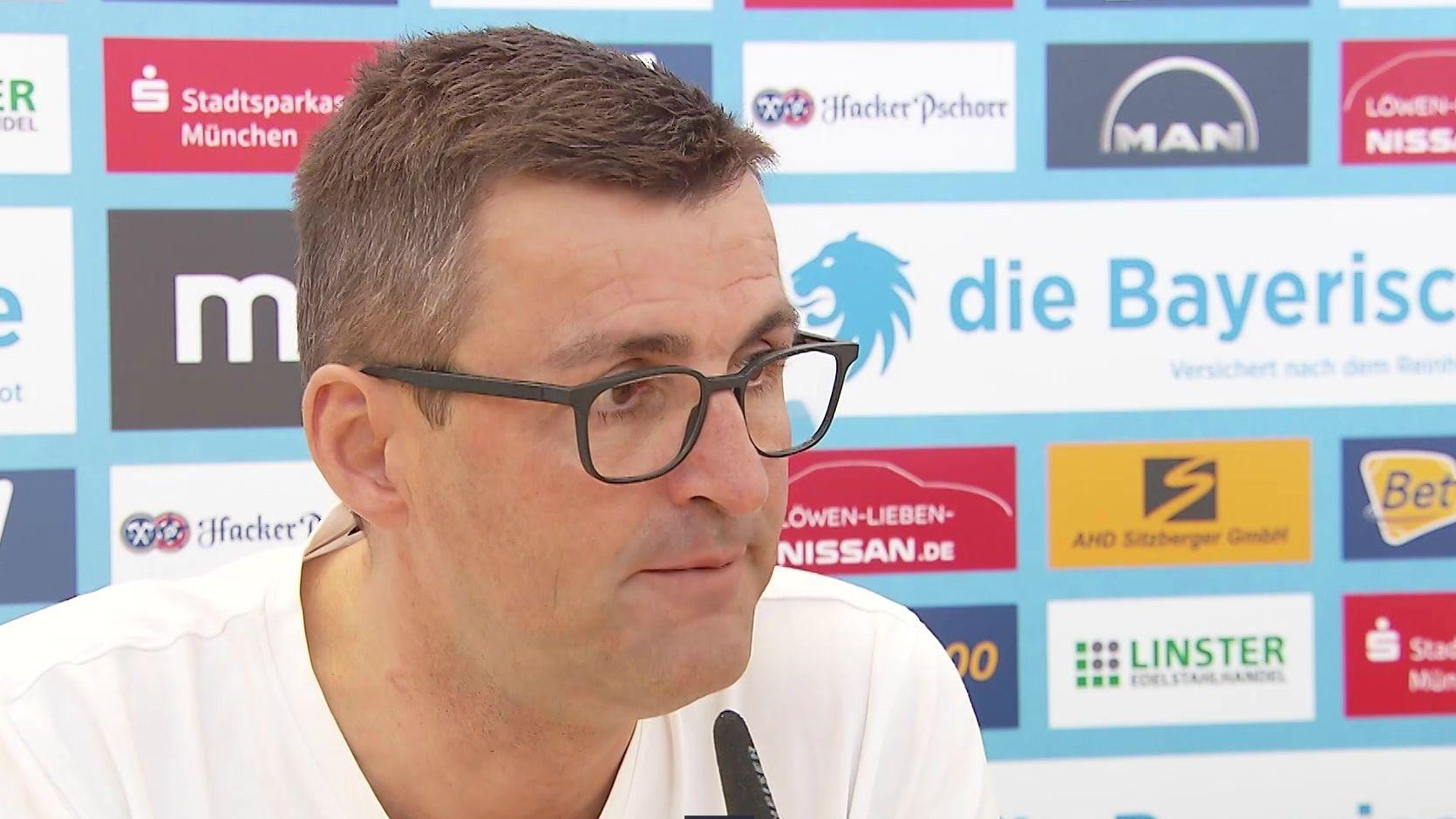 TSV 1860-Coach Michael Köllner blickt positiv in die Zukunft.