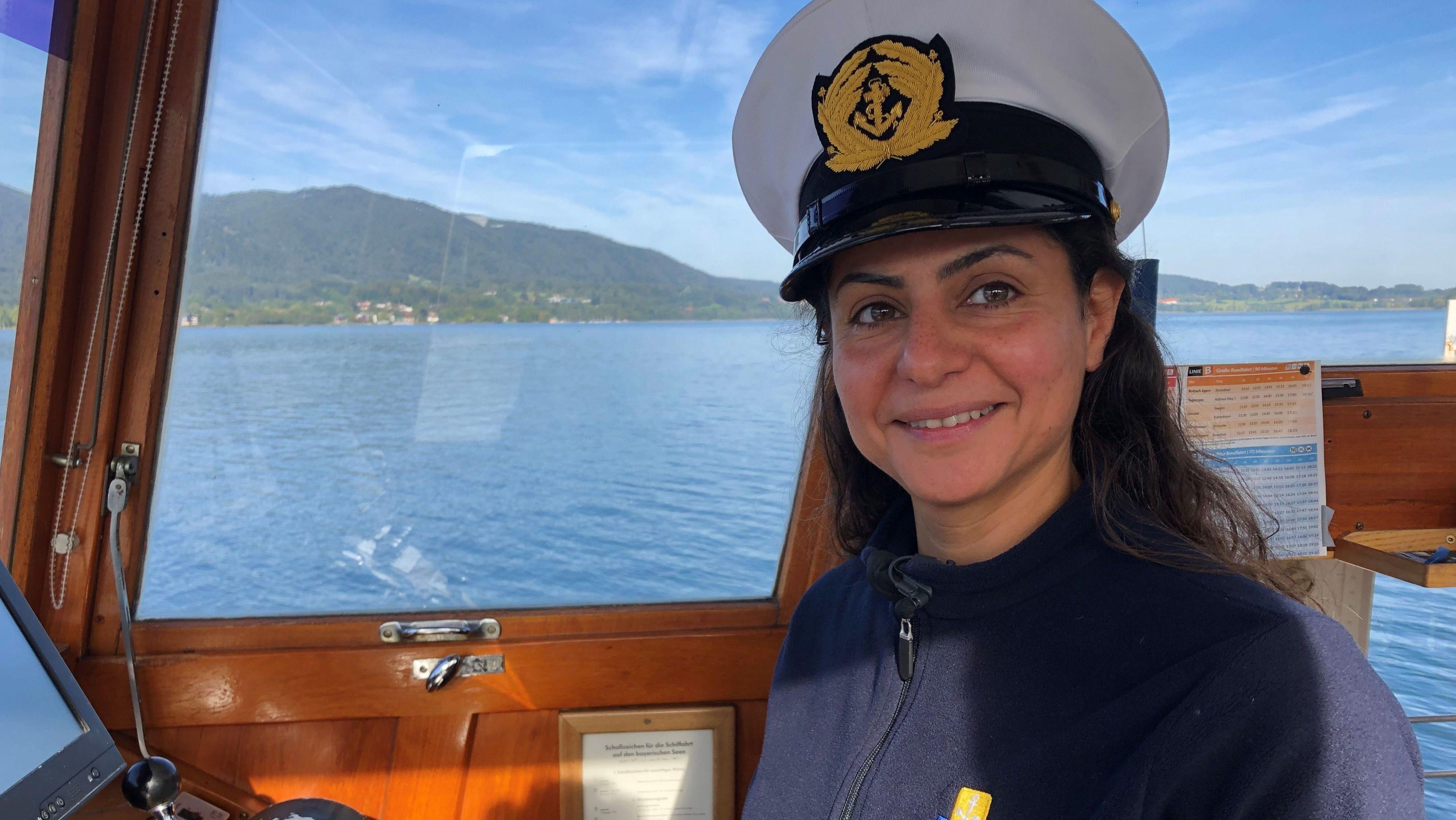 Tegernsee-Kapitänin Najd Boshi