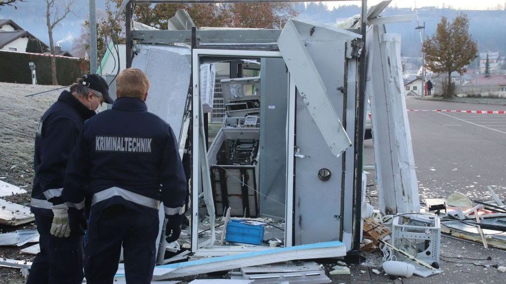 Archivbild: Kriminelle sprengten im November einen Geldautomaten in Sulzberg