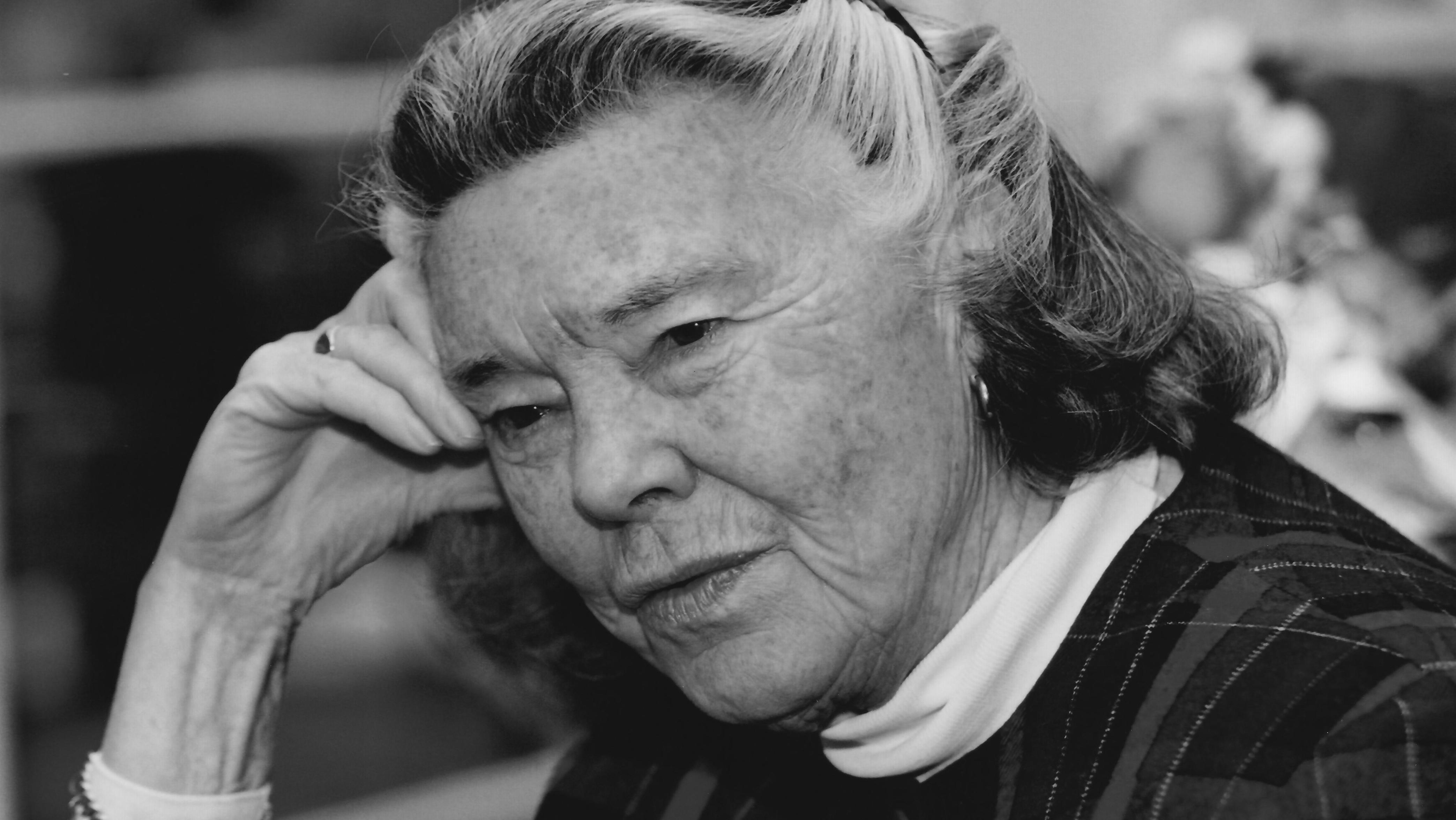 Schriftstellerin Rosamunde Pilcher (Aufnahme von 1999)