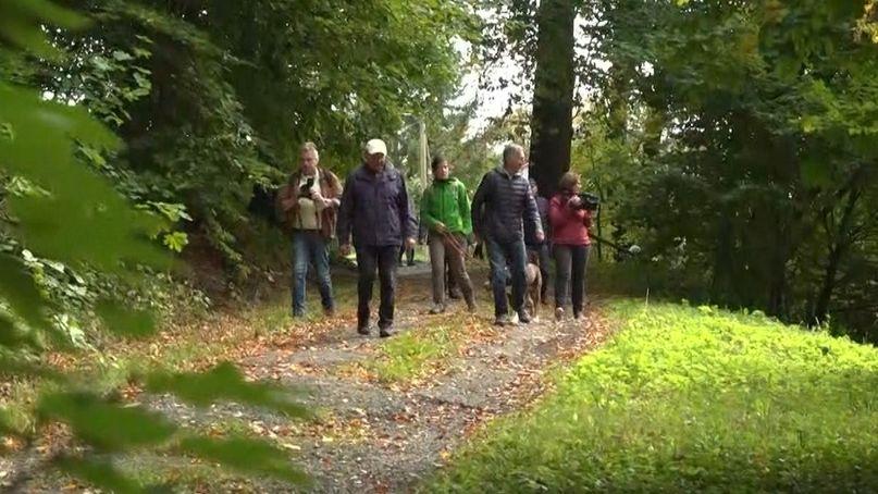 Eröffnung des DonAuwald Wanderwegs