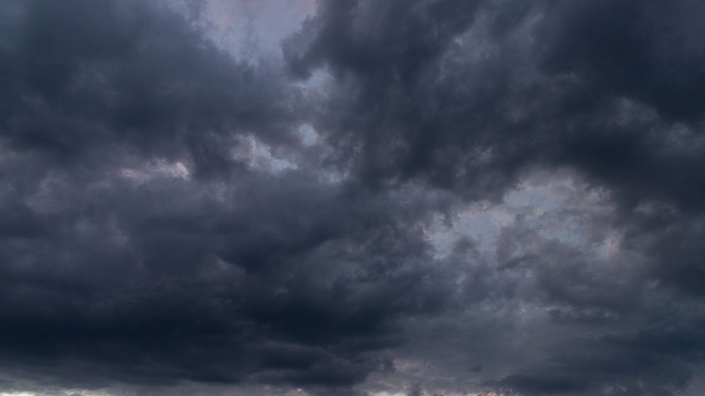 Unwetter in Nordbayern | Bild:privat/Sylvia Bentele