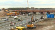 Bauarbeiten auf der  A3 bei Erlangen  | Bild:BR