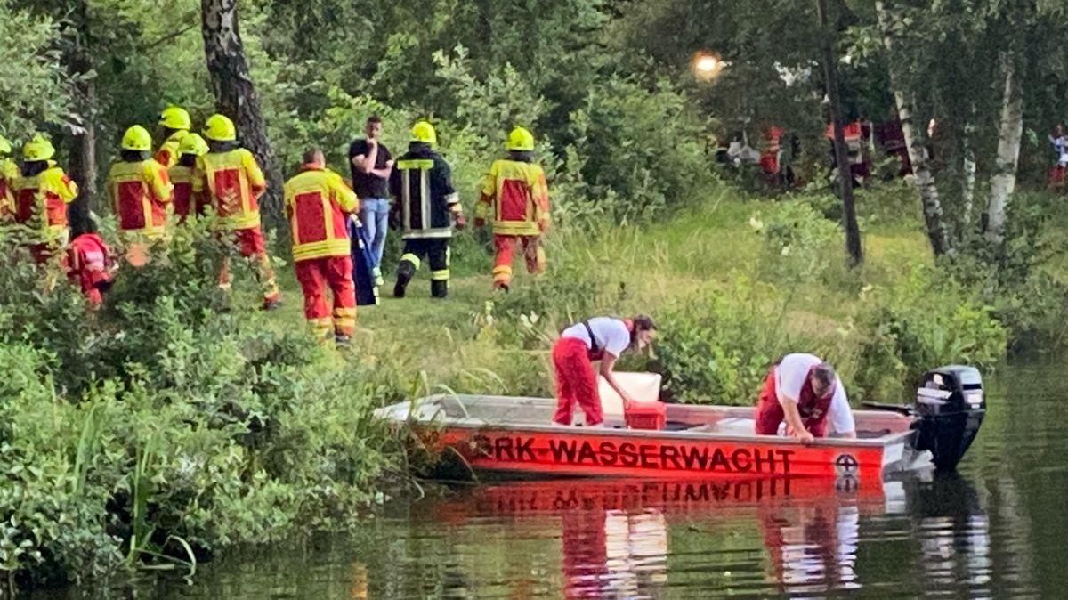 Wasserwacht und Feuerwehr haben sich an der Suche nach dem Vermissten beteiligt.