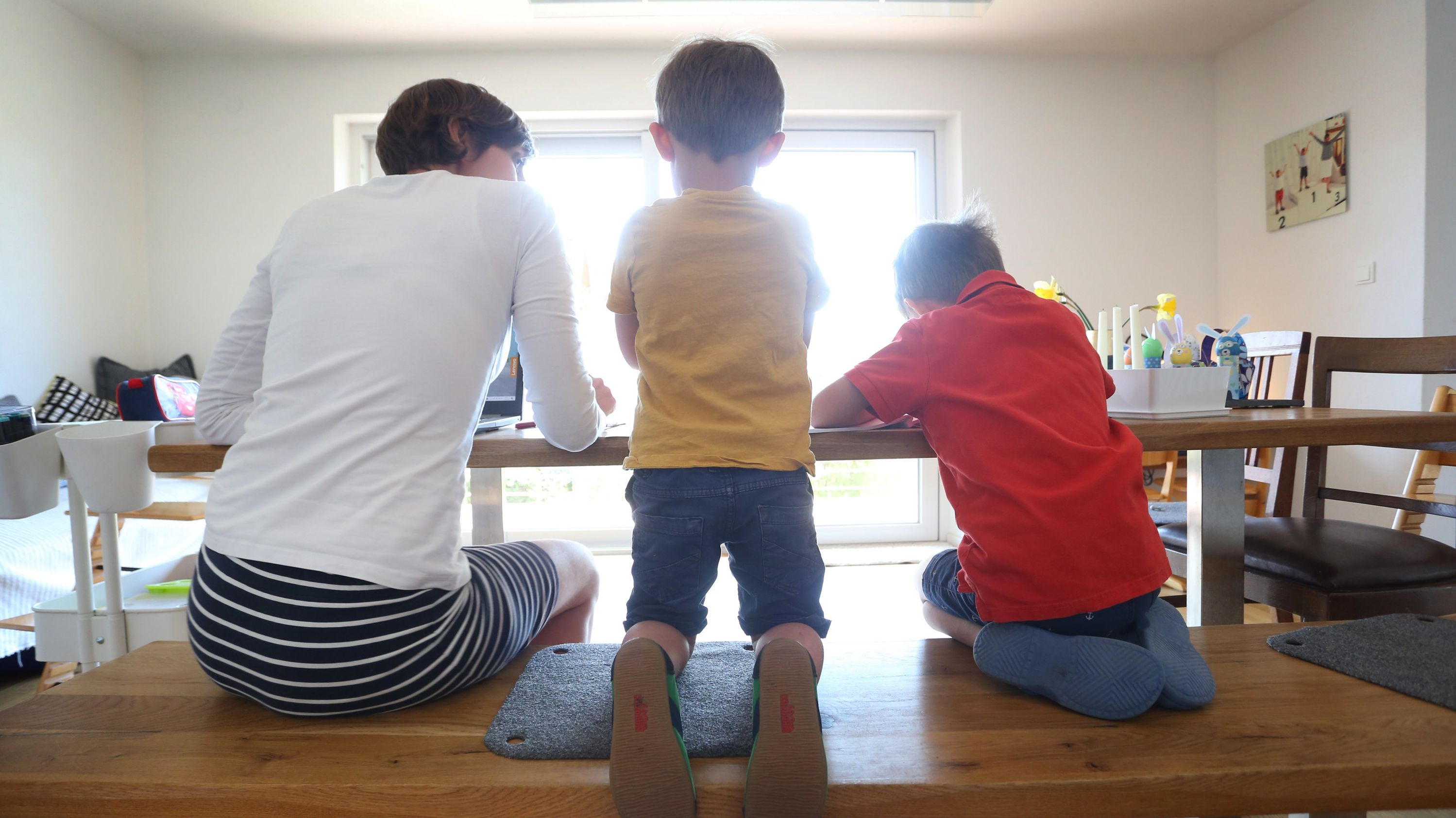 Kinder zuhause