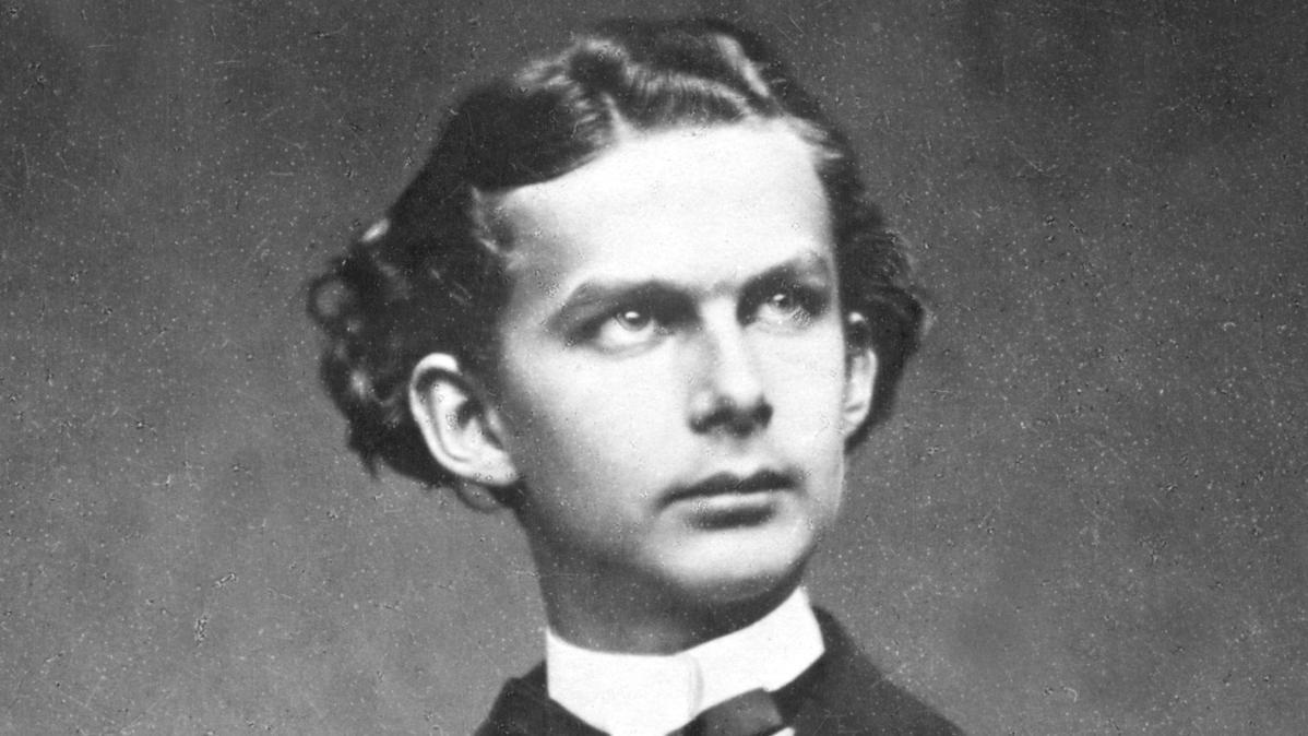 Bayerns König Ludwig II. als junger Mann