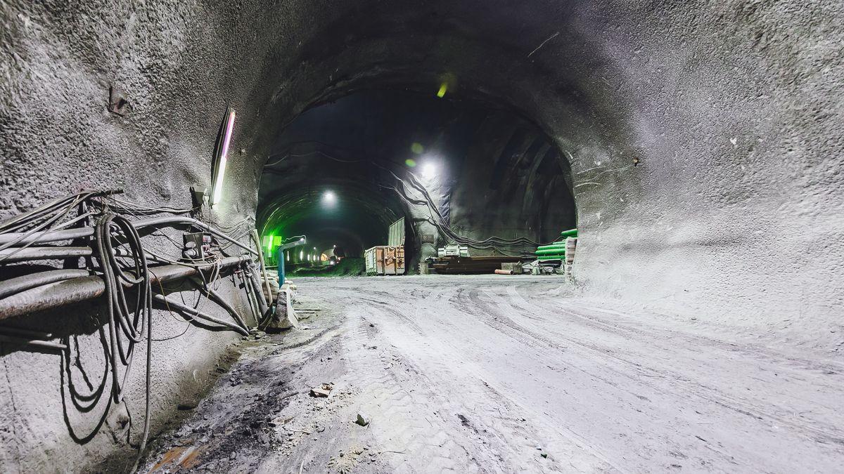 Baustelle Brennerbasistunnel