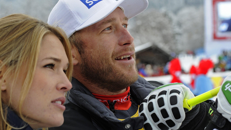Archivbild: Bode Miller mit seiner Frau Morgan