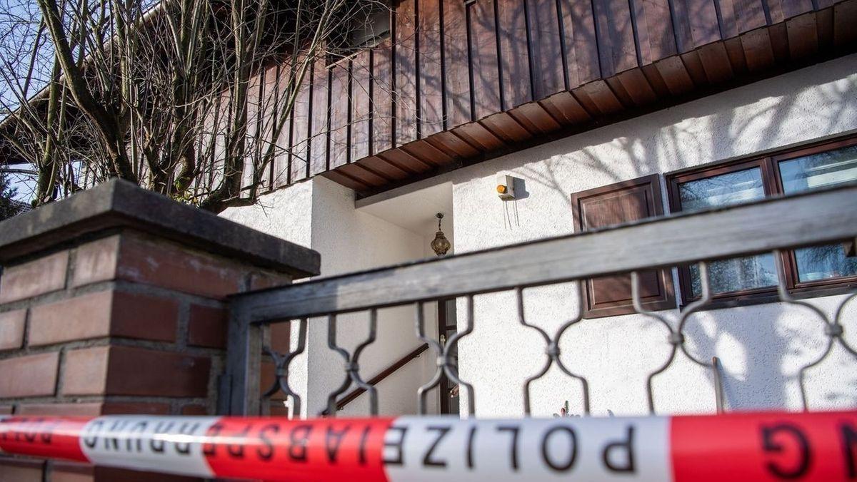 Tatort des dreifachen Mordes in Starnberg.