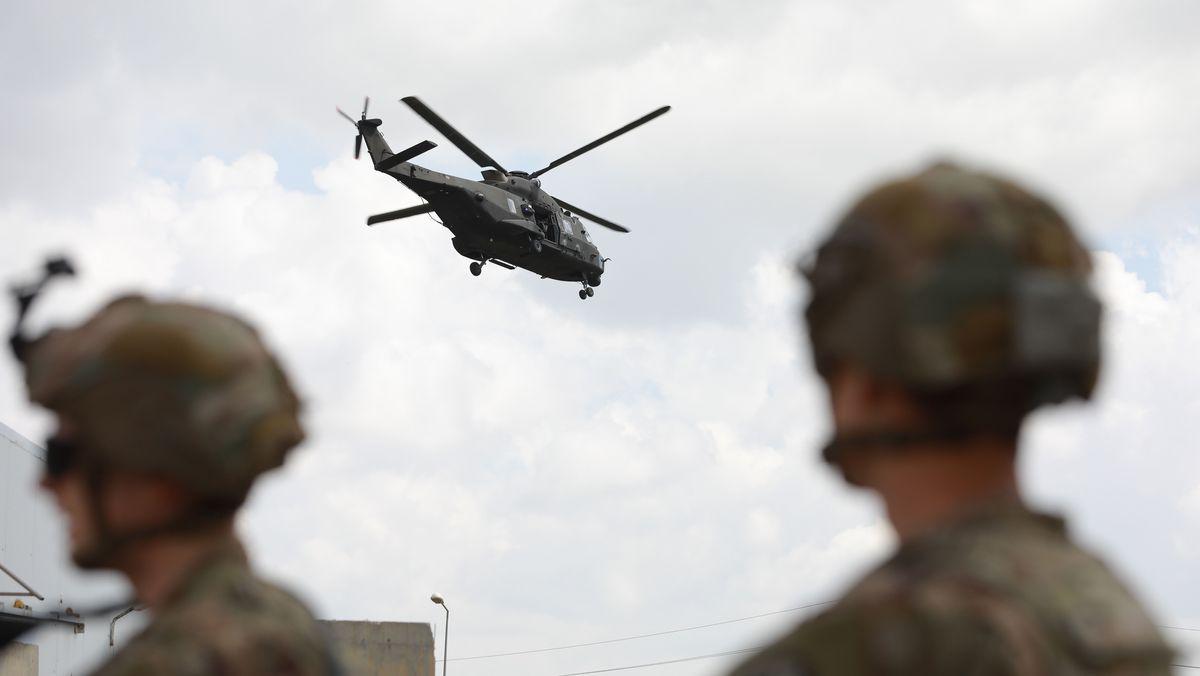 US-Soldaten in Kirkuk, Irak: Trump zieht weitere Truppen aus dem Irak und aus Afghanistan ab
