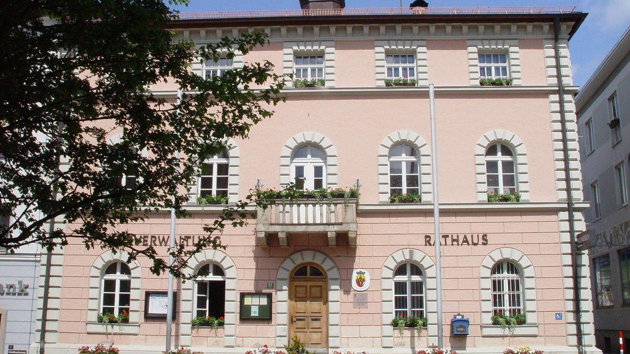 Das Rathaus von Zwiesel