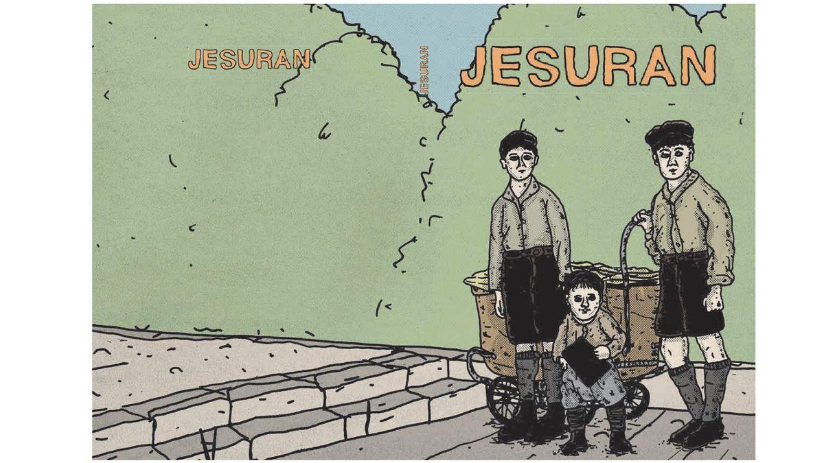 """Das Cover des Comic """"Jesuran"""""""